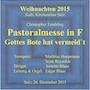 Live-CD: Weihnachtskonzert Kirchenchor